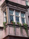 401 Riquewihr-  fenêtre décorée