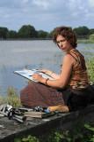 Emilie du cours d'aquarelle de Kerhinet à l'étang de Sandun - MK3_4750_DXO.jpg