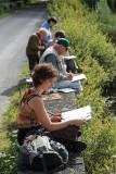 Le groupe du cours d'aquarelle de Kerhinet à l'étang de Sandun - MK3_4753_DXO.jpg