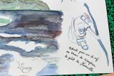 L'aquarelle d'Emilie montrant mon sauvetage de la veste tombée à l'eau à l'étang de Sandun ! MK3_4762_DXO.jpg