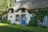 Maison à toit de chaume dans le hameau de Kerhouguet - IMGIMG_0381_DXO.jpg