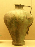 Bronze vessel from the Minoan Civilization 17th Century BC excavated from Akrotiri.