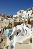 Picturesque residences in Oia.