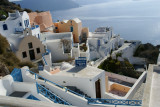 Picturesque Oia - arguably, the most spectacular village in Santorini.
