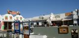 Shopping arcade in Fira at the center of Santorini