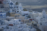 Spectacular picturescape of Fira - the epicenter of Santorini