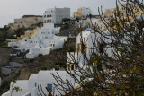 Spectacular view of the center of Oia.