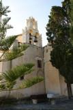 The Episcopi Gonia - the oldest Byzantine church in Santorini near Pyrgos village.