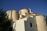The Episcopi Gonia- the oldest Byzantine church in Santorini near Pyrgos village.