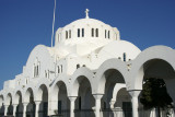 The Metropole Greek Orthodox Church in Fira is arguably, the most opulent in Santorini.