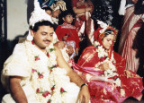 Andy and Sanchita's Wedding and Reception -1992