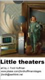 Little theaters art card