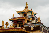 A Temple at a Tibetan Monastery in Southern India