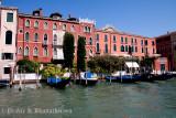 Gondolas at Ferrovia, Venice