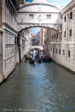 Venetian alley at Piazza San Marco
