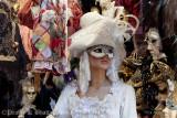 Masked Beauty at Piazza San Marco