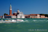 View from the Waterbus station at Piazza San marco