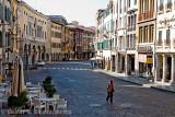 Old Man Walking, Udine, North Italy