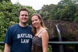 David and Shannon at Rainbow Falls