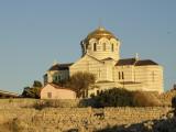 St Wladimir Church at the Chersonessos excavation site, Krim, Ucraine