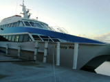 Our ferry between Roatan and Laceiba - 2 round trips a day