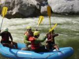 Most rapids are classes II - III