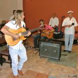 Live music at a Cuban restaurant