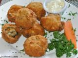 Stuffed breaded mushrooms at Restaurante Casablanca