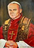 Painting of Pope John Paul II