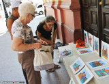 Shopping for art in Casco Viejo
