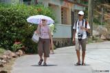 On the streets of San Pedro of Taboga Island