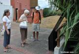 On this spot... (Panama Viejo)