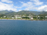 Papeete view from ferry