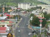 Tegucigalpa Marriott hotel - view from corridor
