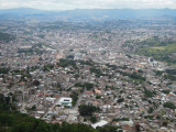 Tegucigalpa view from Parque el Picacho