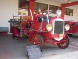San Jose historical fire truck