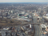Boston Prudential Tower view Fenway Park