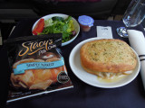 Miami to Newark lunch on American Airlines