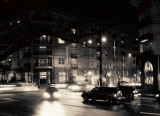 Midtown Corner-Sepia