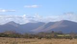 Glen Luss hills from near Croftamie, Loch Lomond