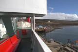 Onboard the CalMac ferry at Kennacraig