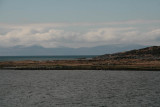 Rounding Ardpatrick Point into the Sound of Jura, Islay in the distance