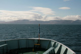 Turning up into the Sound of islay