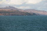 In the Sound of Islay with the lighthouse on McArthur's Head