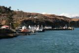 Approaching Port Askaig, Islay