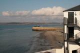 View from the Bowmore Distrillery visitor centre balcony over the harbour