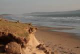 The beach at Laggan Bay - the lang strand
