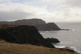 The rocks and sea cliffs at the Mull of Oa