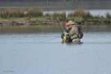 Fishing for Pike in the Crom Mhin bay, Loch Lomond