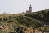 The new and old lighthouses, Isle of May